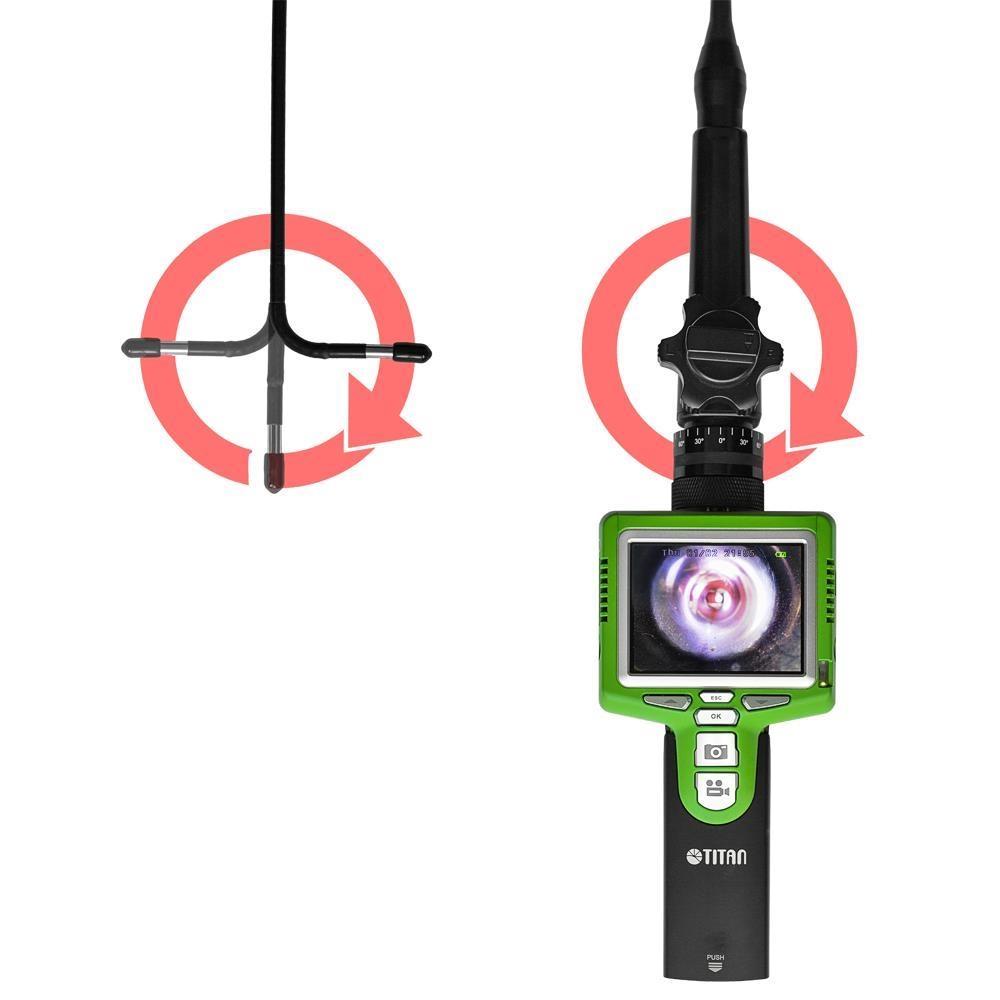 Endoskop m. schwenkbarem Kamerakopf TTS-S06-5.8 270°