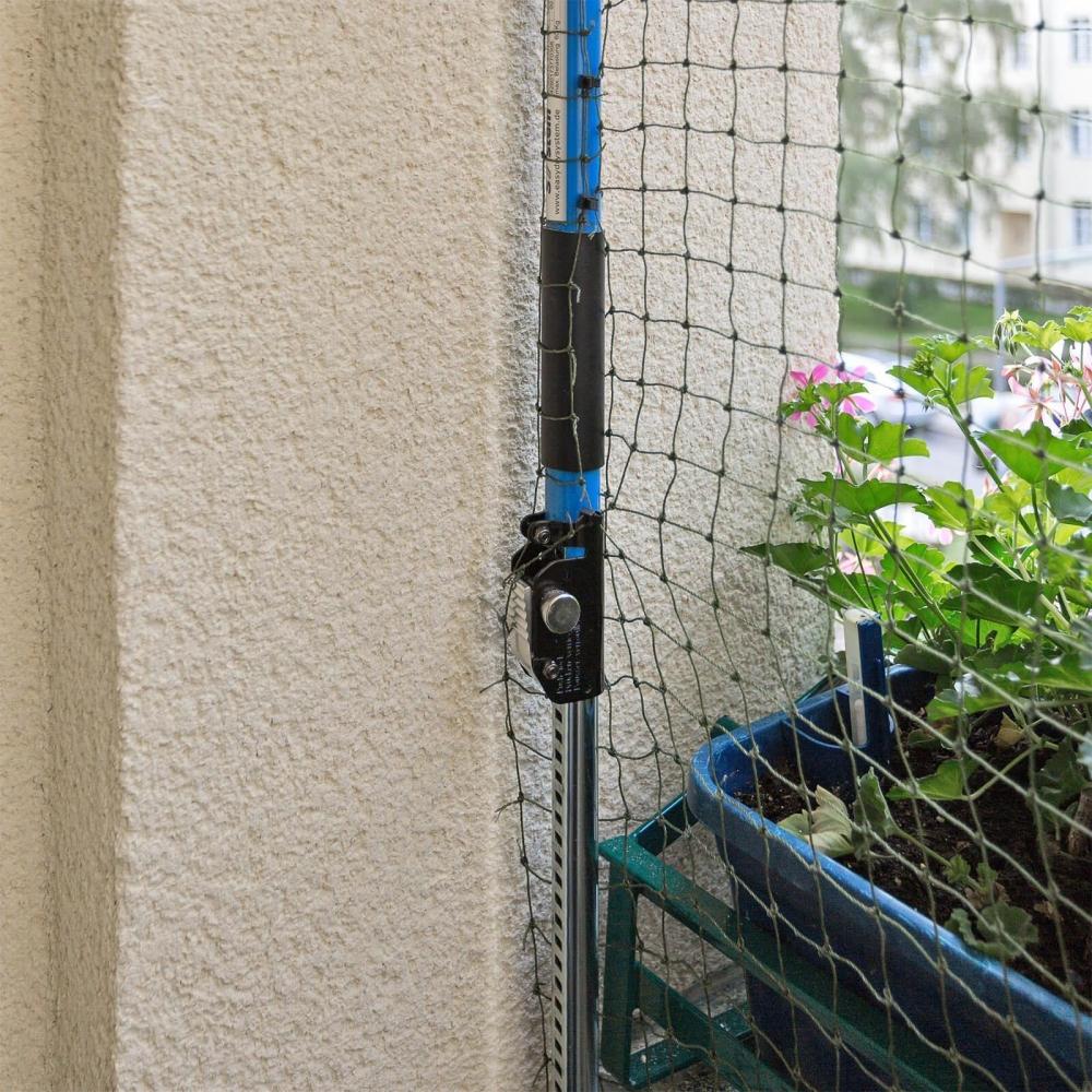 Katzenschutznetz Ohne Bohren : katzenschutznetz katzennetz balkonnetz schutznetz ~ Watch28wear.com Haus und Dekorationen