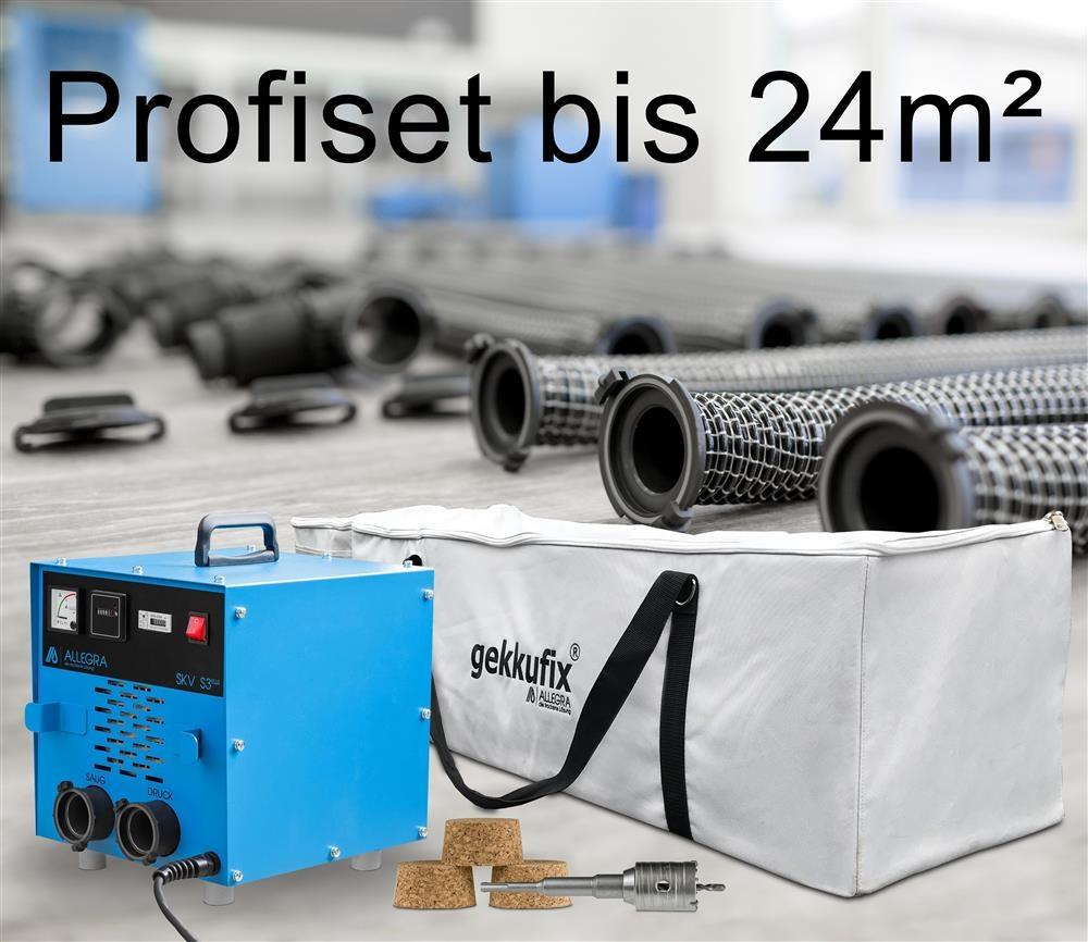 Profiset Estrichtrocknung bis 24m²