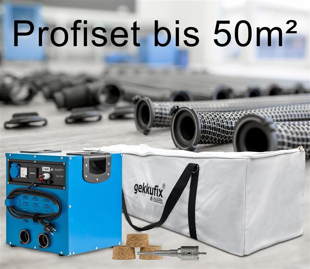 Profiset Estrichtrocknung bis 50m²