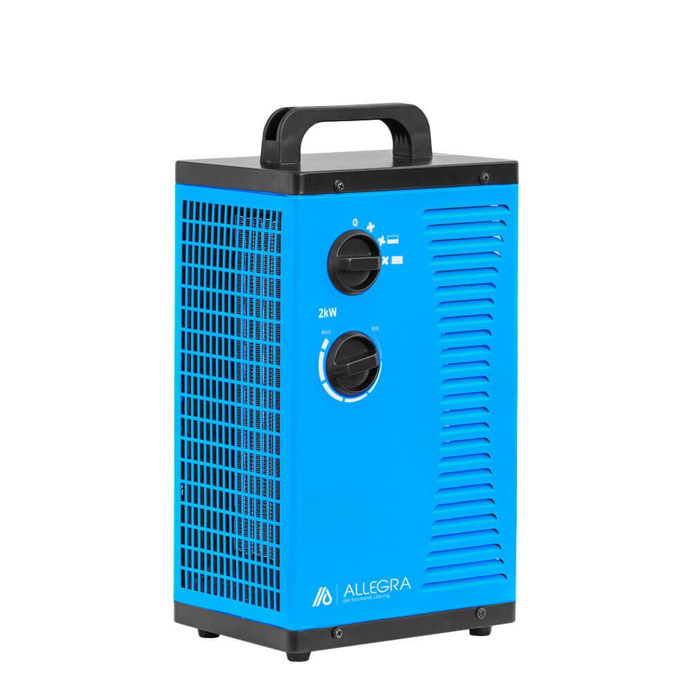 2 KW Elektroheizer Heizlüfter Heizgerät Bauheizer Zeltheizung - ALLEGRA - H22