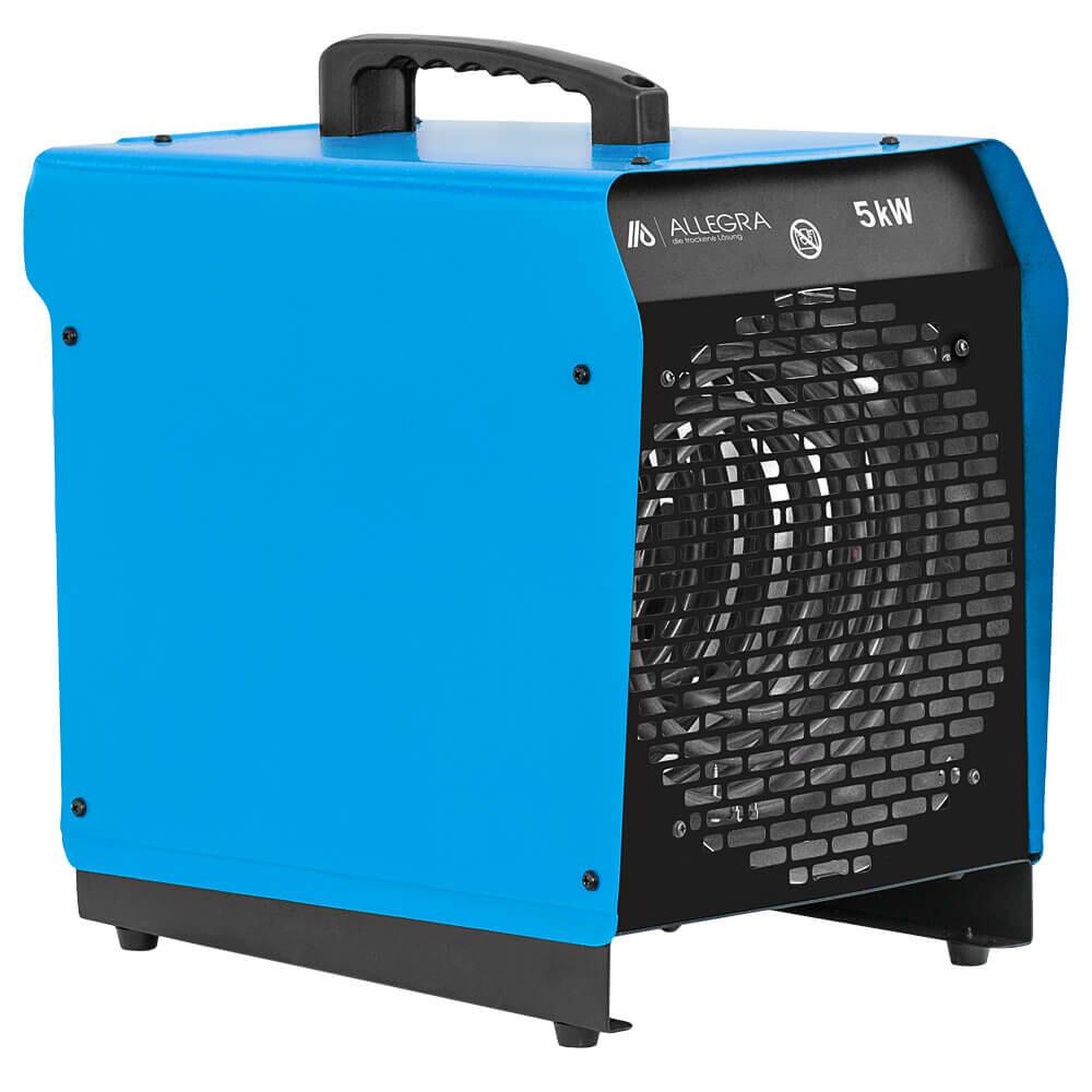 5 KW Elektroheizer Heizlüfter Heizgerät Bauheizer Zeltheizung - ALLEGRA - H51