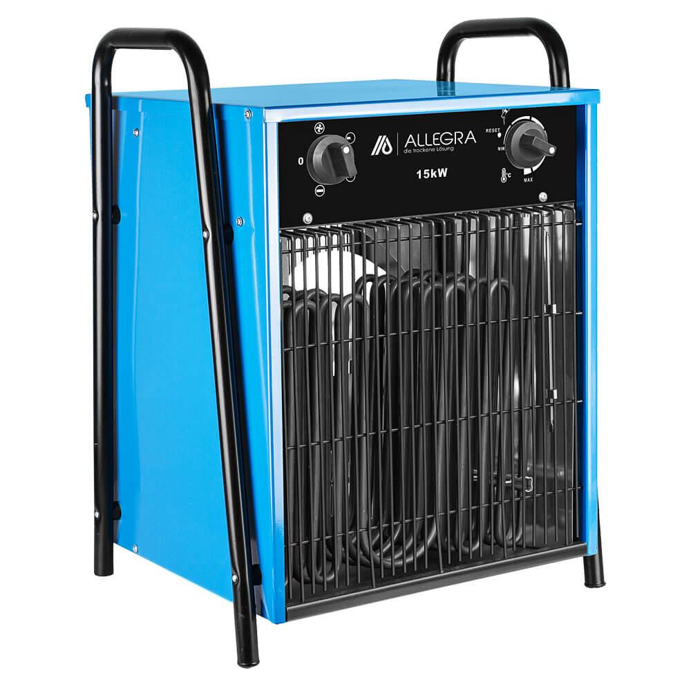 15 KW Elektroheizer Heizlüfter Heizgerät Bauheizer Zeltheizung - ALLEGRA - H150