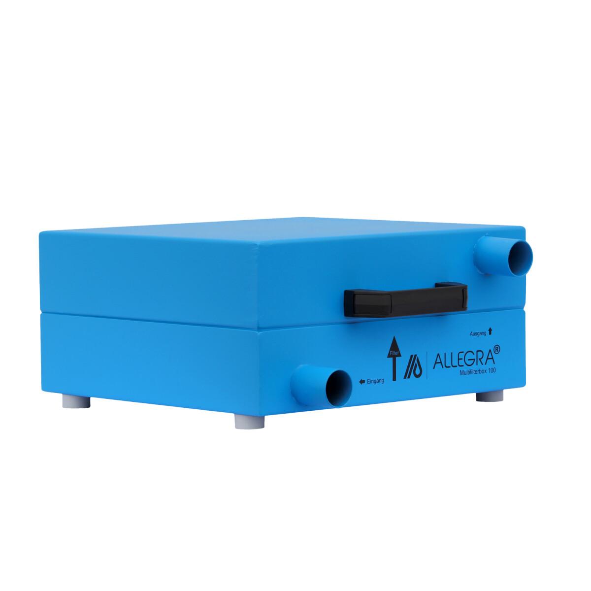 ALLEGRA Multifilterbox 100 mit Hepa-Filter, Anschluss: 38 mm