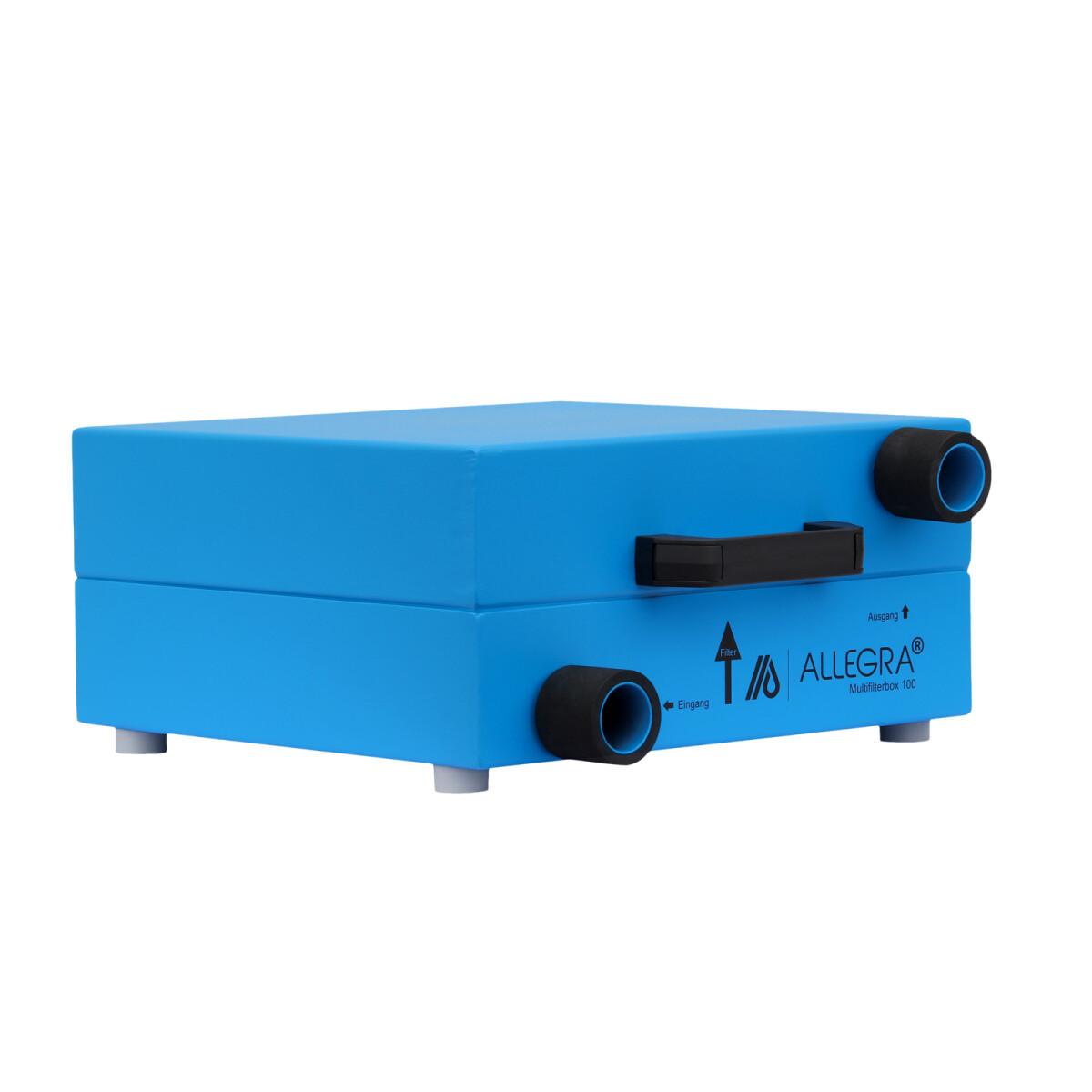 ALLEGRA Multifilterbox 100 mit Hepa-Filter, Anschluss: 50 mm