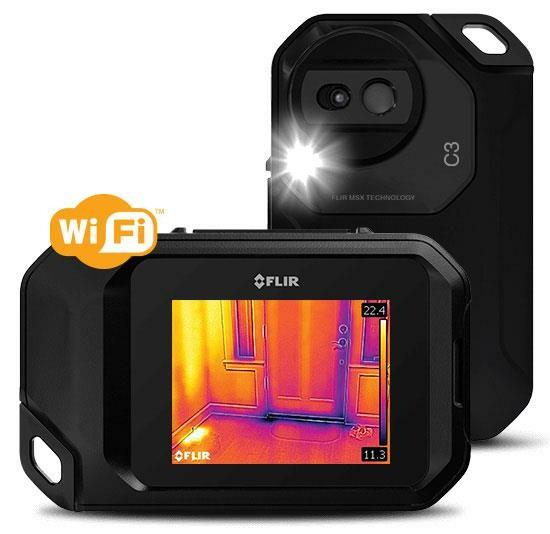 Flir C3-X - kompakte Wärmebildkamera mit Wifi